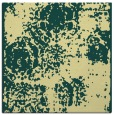 rug #1107182 | square blue-green faded rug