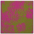 rug #1107194 | square light-green faded rug