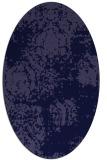 rug #1107306   oval blue-violet traditional rug