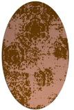 rug #1107368 | oval damask rug