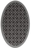 rug #110744 | oval borders rug