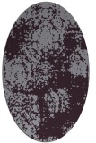 rug #1107466 | oval faded rug