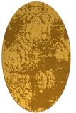 rug #1107547 | oval damask rug