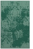 rug #1107642 |  blue-green damask rug