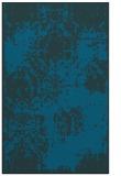 rug #1107654 |  blue traditional rug