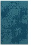 rug #1107658    blue-green damask rug