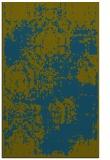 rug #1107666    blue-green damask rug