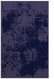rug #1107674 |  blue-violet damask rug