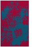 rug #1107710 |  blue-green damask rug