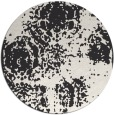 rug #1107961   round faded rug