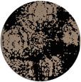 rug #1107966 | round beige damask rug