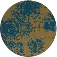 rug #1107985 | round faded rug