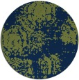 rug #1107998 | round blue faded rug