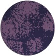 rug #1108054 | round purple faded rug