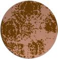 rug #1108104 | round damask rug