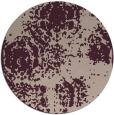 rug #1108118 | round pink damask rug
