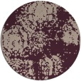 rug #1108119 | round faded rug