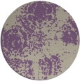 rug #1108138 | round purple faded rug