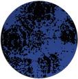 rug #1108154 | round black natural rug