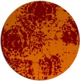 rug #1108158 | round red-orange natural rug