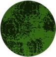 rug #1108238 | round light-green damask rug