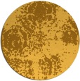 rug #1108282   round light-orange damask rug