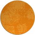 rug #1108314 | round light-orange faded rug