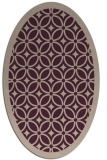 rug #110854   oval borders rug
