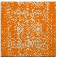 rug #1108690 | square orange popular rug