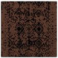 rug #1108706 | square black damask rug