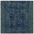 rug #1108730 | square blue faded rug