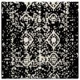 rug #1108754 | square blue-green damask rug