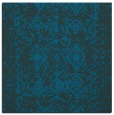 rug #1108758 | square blue damask rug