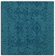 rug #1108762 | square blue-green traditional rug
