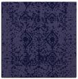 rug #1108778 | square blue-violet damask rug