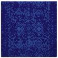 rug #1108794 | square blue-violet damask rug