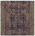 rug #1108798 | square blue-violet damask rug