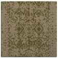 rug #1108806 | square brown faded rug