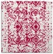 rug #1108810 | square red traditional rug