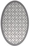 rug #110882 | oval borders rug