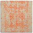 rug #1108902   square orange faded rug