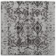 rug #1108906 | square red-orange damask rug