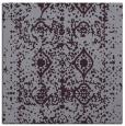 rug #1108938 | square purple damask rug