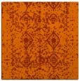 rug #1108958 | square red-orange traditional rug