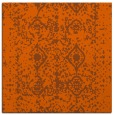 rug #1108966 | square red-orange rug