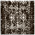 rug #1108990 | square brown rug