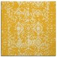 rug #1109006 | square yellow faded rug