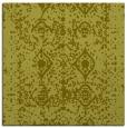 rug #1109026 | square light-green traditional rug