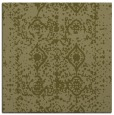 rug #1109038 | square light-green faded rug
