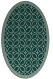 rug #110904 | oval circles rug